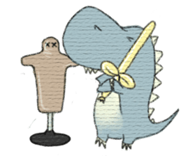Pudding The Dinosaur sticker #1154701