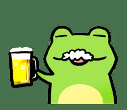 Carefree Frog(English) sticker #1155586