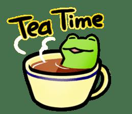Carefree Frog(English) sticker #1155592