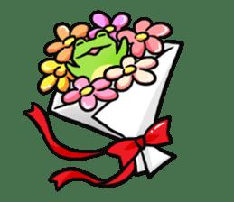 Carefree Frog(English) sticker #1155595