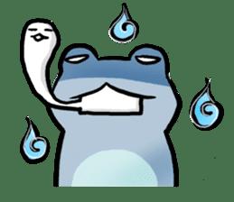 Carefree Frog(English) sticker #1155599
