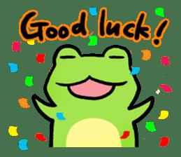Carefree Frog(English) sticker #1155600