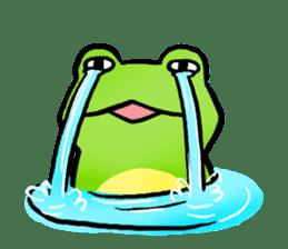 Carefree Frog(English) sticker #1155605