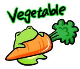 Carefree Frog(English) sticker #1155608