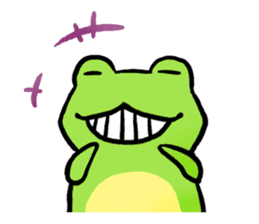 Carefree Frog(English) sticker #1155612