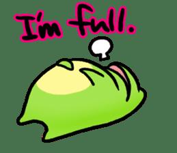 Carefree Frog(English) sticker #1155614
