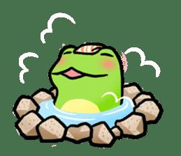 Carefree Frog(English) sticker #1155617