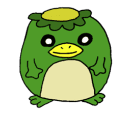 Bootaro of the kappa sticker #1155826