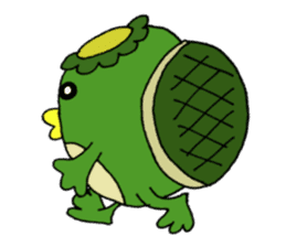 Bootaro of the kappa sticker #1155831