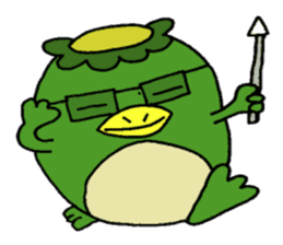 Bootaro of the kappa sticker #1155835