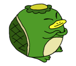 Bootaro of the kappa sticker #1155836