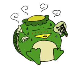 Bootaro of the kappa sticker #1155840