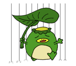 Bootaro of the kappa sticker #1155841