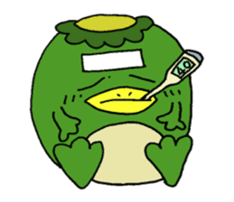 Bootaro of the kappa sticker #1155843
