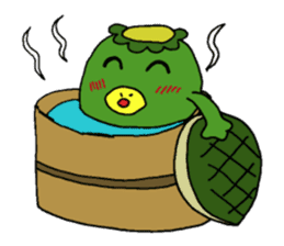 Bootaro of the kappa sticker #1155849