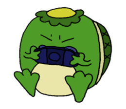 Bootaro of the kappa sticker #1155850