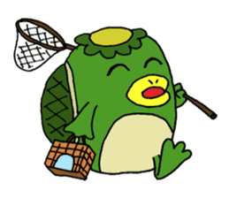 Bootaro of the kappa sticker #1155852