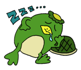 Bootaro of the kappa sticker #1155856