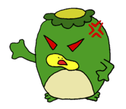Bootaro of the kappa sticker #1155857