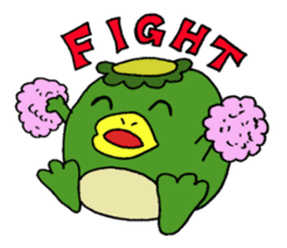 Bootaro of the kappa sticker #1155862
