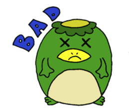 Bootaro of the kappa sticker #1155864