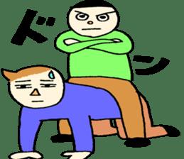 Mr.Tukkomi and Mr.Koboke sticker #1156582