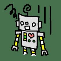 The ROBOTETSU sticker of kiyoshi sticker #1158949