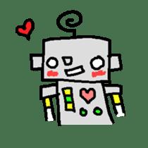 The ROBOTETSU sticker of kiyoshi sticker #1158950