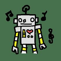 The ROBOTETSU sticker of kiyoshi sticker #1158951