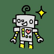 The ROBOTETSU sticker of kiyoshi sticker #1158955