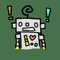 The ROBOTETSU sticker of kiyoshi sticker #1158956