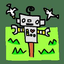 The ROBOTETSU sticker of kiyoshi sticker #1158960