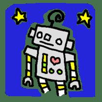 The ROBOTETSU sticker of kiyoshi sticker #1158971