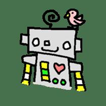 The ROBOTETSU sticker of kiyoshi sticker #1158974
