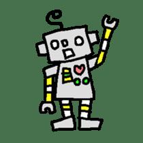 The ROBOTETSU sticker of kiyoshi sticker #1158982