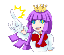 Princess Purple sticker #1159590