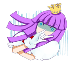 Princess Purple sticker #1159593
