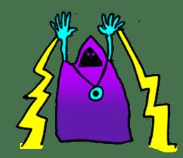 Dark Wizard & Barbarian sticker #1160310