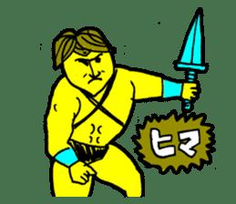 Dark Wizard & Barbarian sticker #1160322