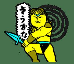 Dark Wizard & Barbarian sticker #1160323