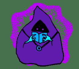 Dark Wizard & Barbarian sticker #1160329