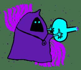 Dark Wizard & Barbarian sticker #1160330
