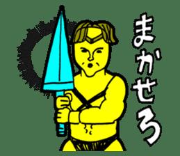 Dark Wizard & Barbarian sticker #1160331