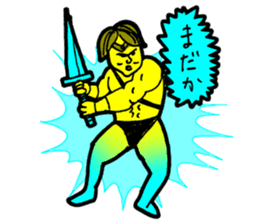 Dark Wizard & Barbarian sticker #1160335