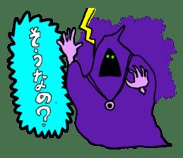Dark Wizard & Barbarian sticker #1160337