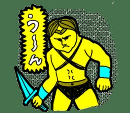 Dark Wizard & Barbarian sticker #1160340