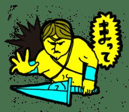 Dark Wizard & Barbarian sticker #1160343