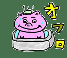 pig sticker sticker #1161188
