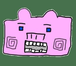 pig sticker sticker #1161195