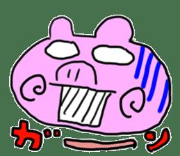 pig sticker sticker #1161200